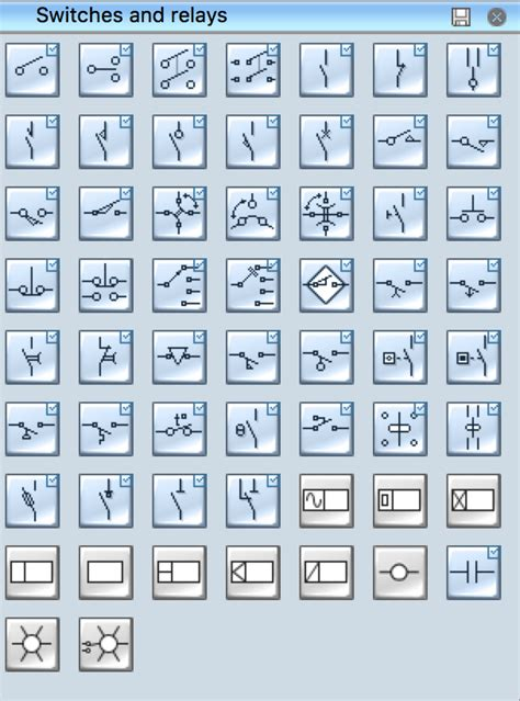 electrical symbols electrical schematic symbols