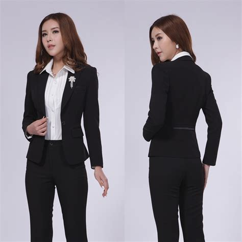 styles of work suites female office uniform promotion shop for promotional