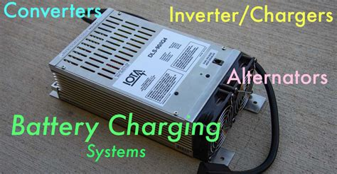 leaving boat battery charger plugged in rv converter inverter charger alternator battery charging