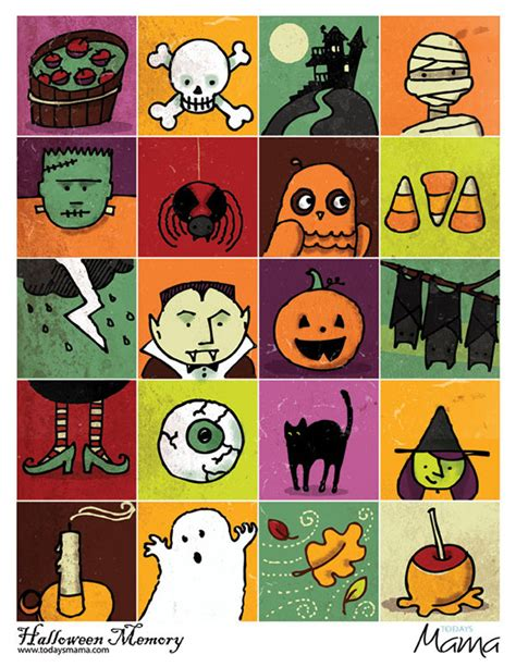 halloween haircut games halloween memory game on behance