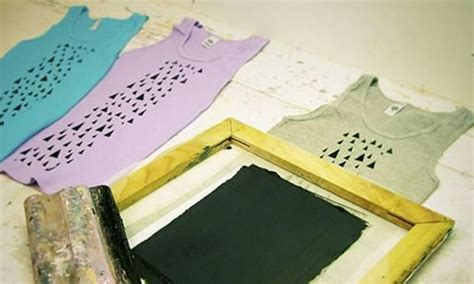 how to screen print t shirts at home