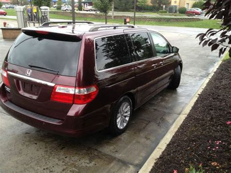 purchase used 2007 honda odyssey touring edition 74k miles dvd navigation like new in new