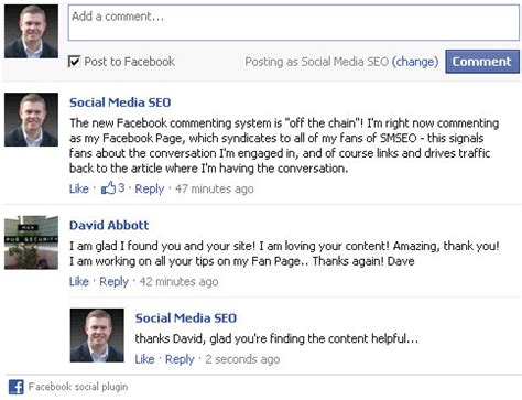 facebook fan page plugin why facebook s new comment box plugin is important to