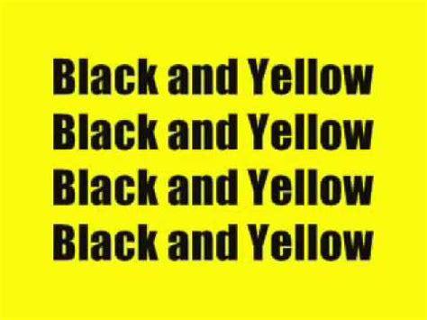 black yellow lyrics black and yellow lyrics wiz khalifa youtube