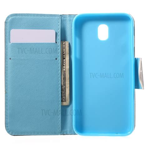 Samsung Galaxy J5 Pro 2017 Leather Casing Kulit Flip Cover Armor pattern printing cross texture folio leather wallet casing