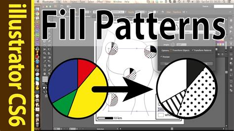 ai pattern fill using patterns swatches in illustrator points lines