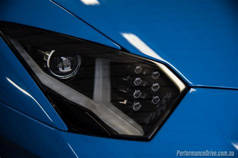 lamborghini aventador headlights in the 2017 lamborghini aventador s review australian launch