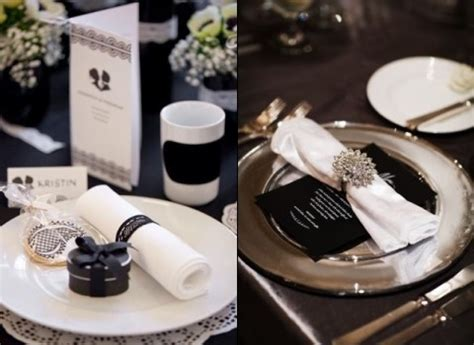 black and white table setting elegant table settings www pixshark com images