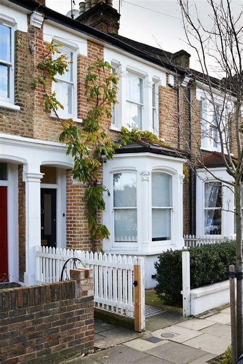 terraced house exterior renovation before after design