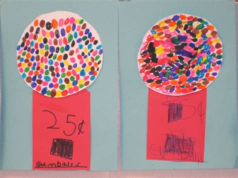 craft projects for kindergarten the clever feather gumball machines