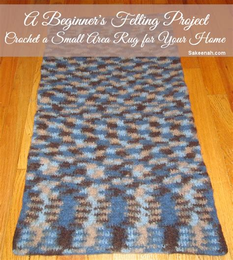 How To Make A Felt Rug by How To Make A Felted Wool Rug Sakeenah