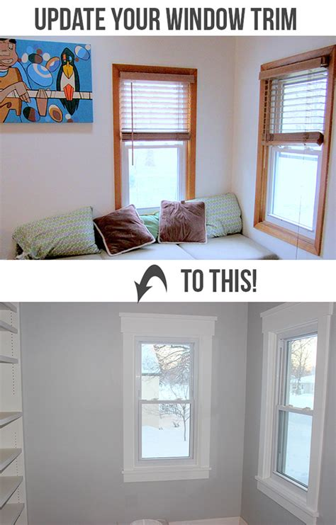 Trim Around Windows Inspiration How To Install Craftsman Style Window Trim Teal And Lime Home Decorating Diy
