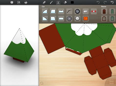 Papercraft Software - foldify a clever papercraft app for