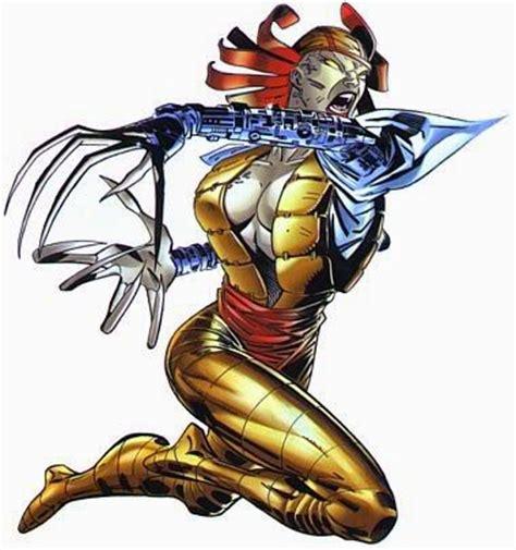 Kaos Samurai X Samurai X 42 leyendas universo marvel dama mortal