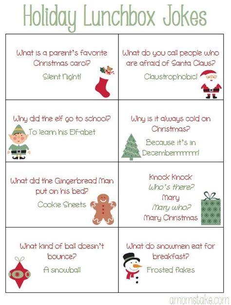 free printable lunchbox jokes christmas 126 best images about jokes on pinterest jokes school