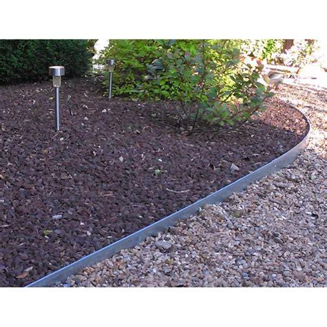 bordure de jardin en bordure jardin qualit 233 professionnel acier galvanis 233 longueur 2 50 m