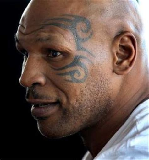 tyson tattoo app tyson becomes cartoon detective with a magical face tattoo