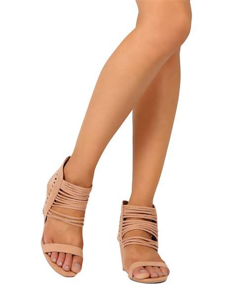 Sandal Joey 1 new qupid joey 13 faux suede open toe strappy cut