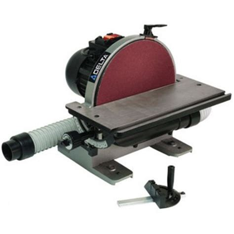 Delta 31 140 12 In Disc Sander With Integral Dust Collection