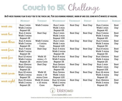 To 5k Week 7 by 25 Best Ideas About From To 5k On