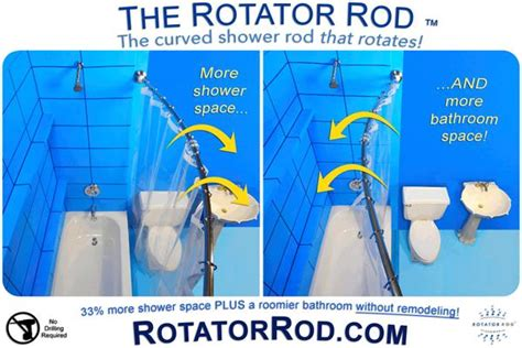 Small Bathroom Ideas: Shower Spaces ? Rotator Rod