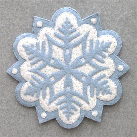 snowflake pattern for applique snowflake 1 designandbemary com