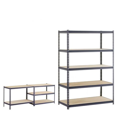 edsal 5 shelf heavy duty steel shelving tools garage