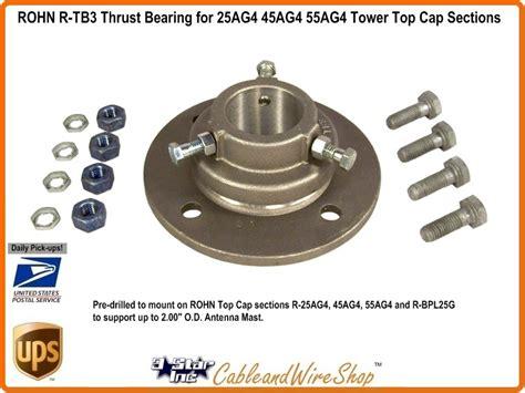 rohn    heavy duty thrust bearing  tb  star
