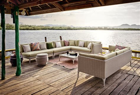 mu daybed sun loungers from dedon architonic