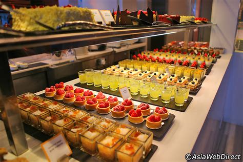 in color line up the line restaurant at shangri la singapore one of