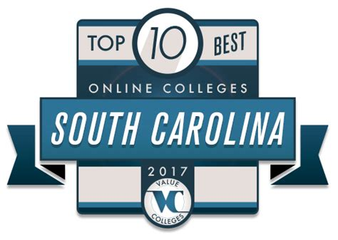 Top 10 Healthcare Mba Programs In Carolina by Top 10 Best Colleges In South Carolina Value Colleges