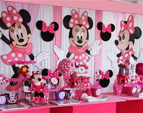 Themes Minnie Mouse | theme party ideas for your daughter on first birthday