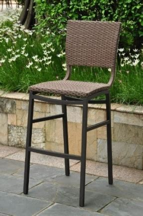 resin wicker counter height chairs counter height outdoor bar stools foter