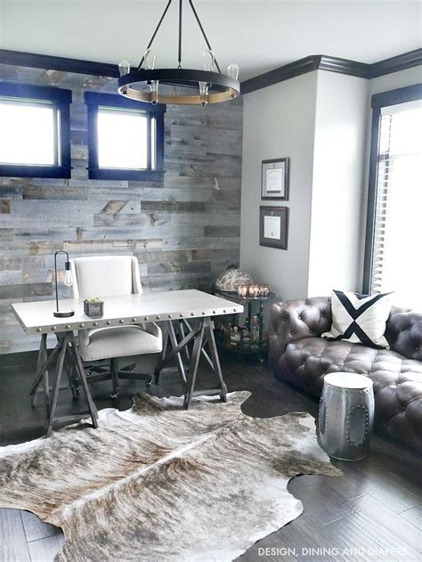 modern rustic home design ideas best 20 rustic office ideas on rustic office