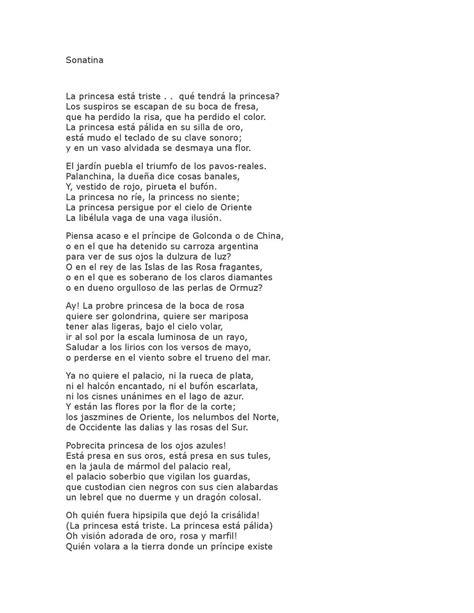 Calaméo - Darío, Rubén. Sonatina