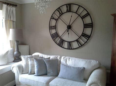 wall clock for room details about large black iron numeral clock large black and clocks