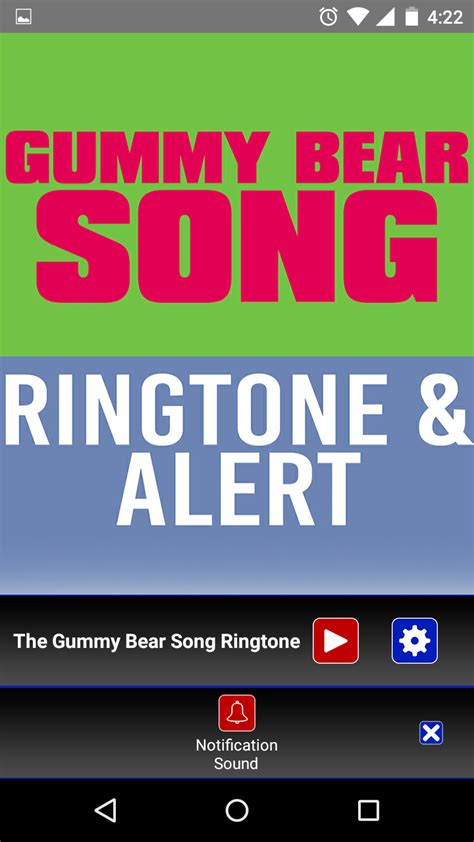 song ringtone the gummy song ringtone appstore for android