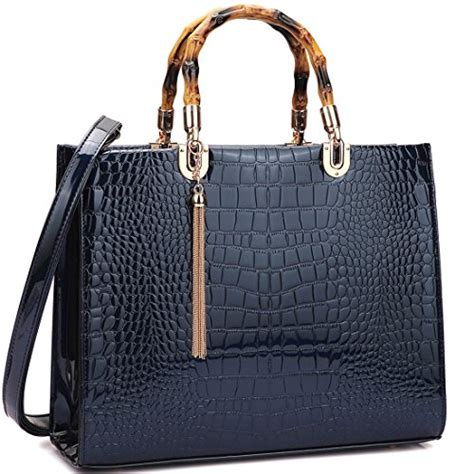 Other Designers With Marco Tagliaferri Designer Handbag by Marco Handbags Mmk Collection Fashion Bamboo Handle
