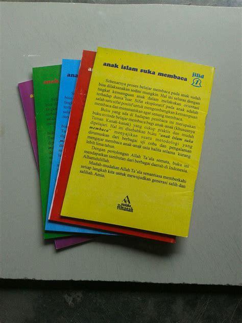 Buku Cara Praktis Belajar Membaca Untuk Anak 4 6 Tahun Abacaga buku anak islam suka membaca set 5 jilid