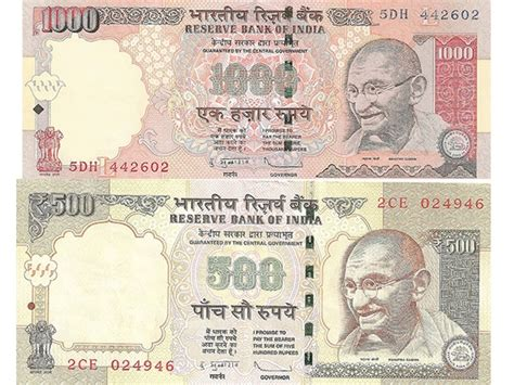 rs 1000 and 500 notes exchange form rs 500 1000 notes find out what