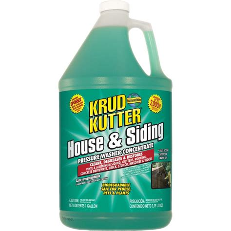 zep house and siding cleaner krud kutter 1gallon house and siding pressure washer cleaner hs014