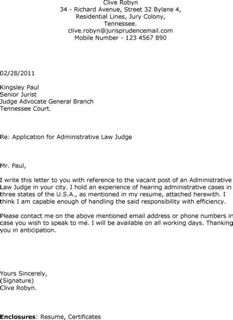 covering application letter sle covering letter for application by email the