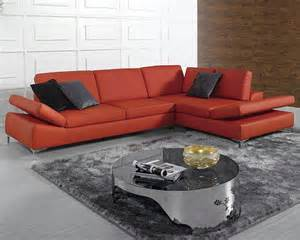 Bonded Leather Sectional Sofa Modern Bonded Leather Sectional Sofa Set 44lk8382