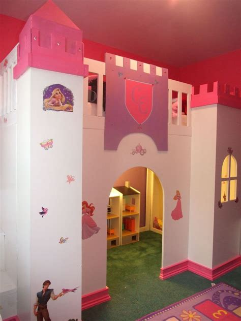 Castle Loft Bed by White Castle Loft Bed Diy Projects