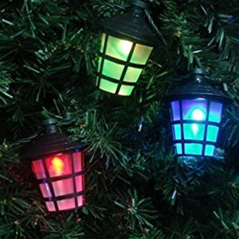 multi coloured indoor outdoor christmas festive 10 led