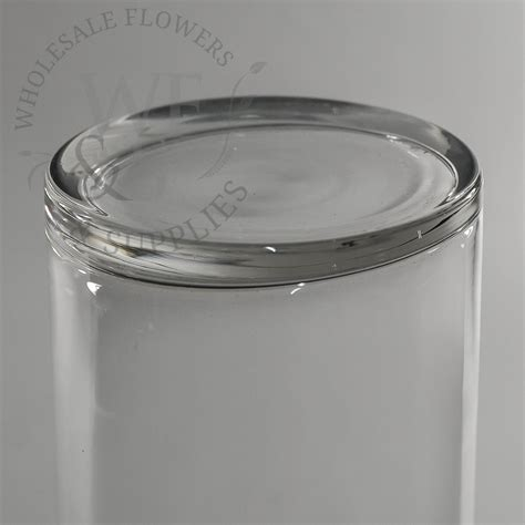 20 Cylinder Vase by 20 Quot X 4 Quot Glass Cylinder Vase Wholesale Flowers And Supplies