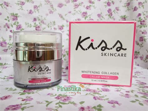 Skincare Whitening Collagen Mask pinastika review skincare whitening
