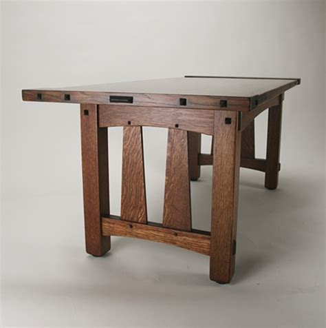 craftsman style end tables custom furniture by james oleson