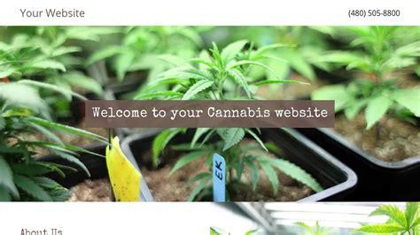 Cannabis Website Templates Godaddy Marijuana Website Templates
