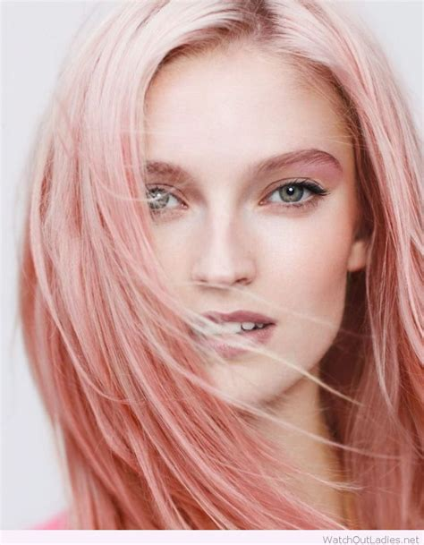 light pink hair ideas  pinterest pale pink